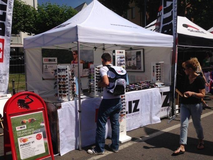 Bliz-Stand Ironman Frankfurt 2014