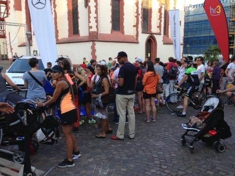 Super Stimmung und super Leute am Ironman Frankfurt 2014