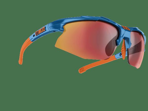 VELO XT Bikebrille SMALLFACE blue/orange 1