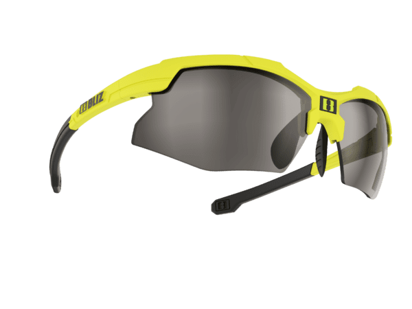 BLIZ FORCE rubber neon yellow/smoke with silver mirror 1
