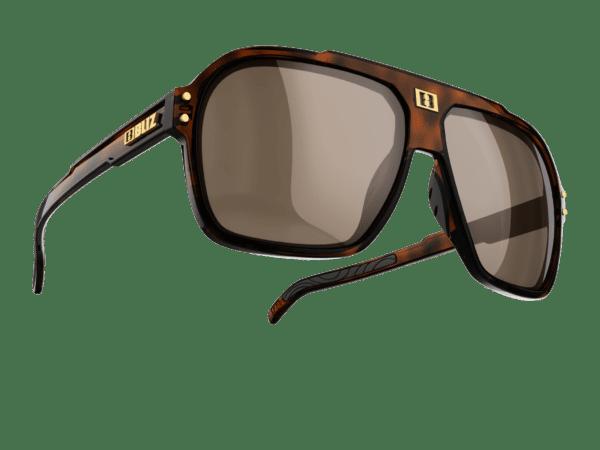 TARGA demi brown / brown with silver mirror polarized 1
