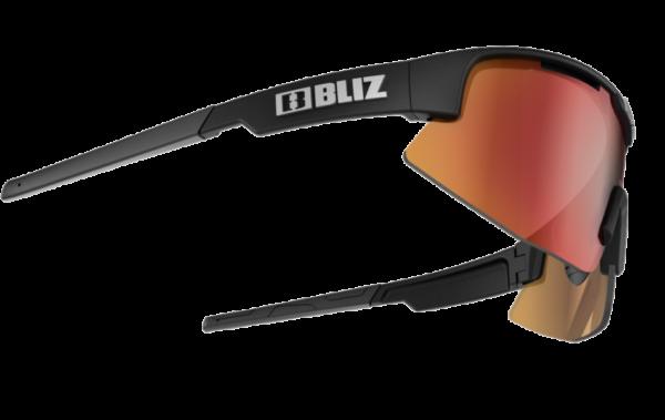 BLIZ Sportbrille MATRIX Matt Black / brown w red multi (Filt.Cat.3) 3