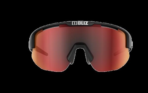 BLIZ Sportbrille MATRIX Matt Black / brown w red multi (Filt.Cat.3) 2