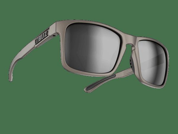 BLIZ LUNA matt rubber aluminium gun / smoke w silver mirror (Filt.Cat.3) 1