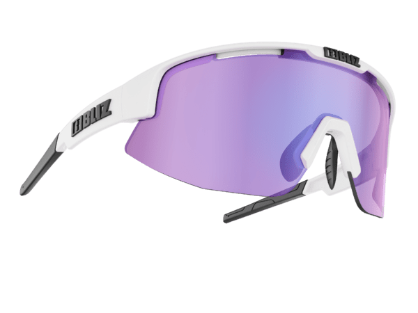 BLIZ MATRIX Shiny White / brown w purple multi (Filt.Cat.3) 1