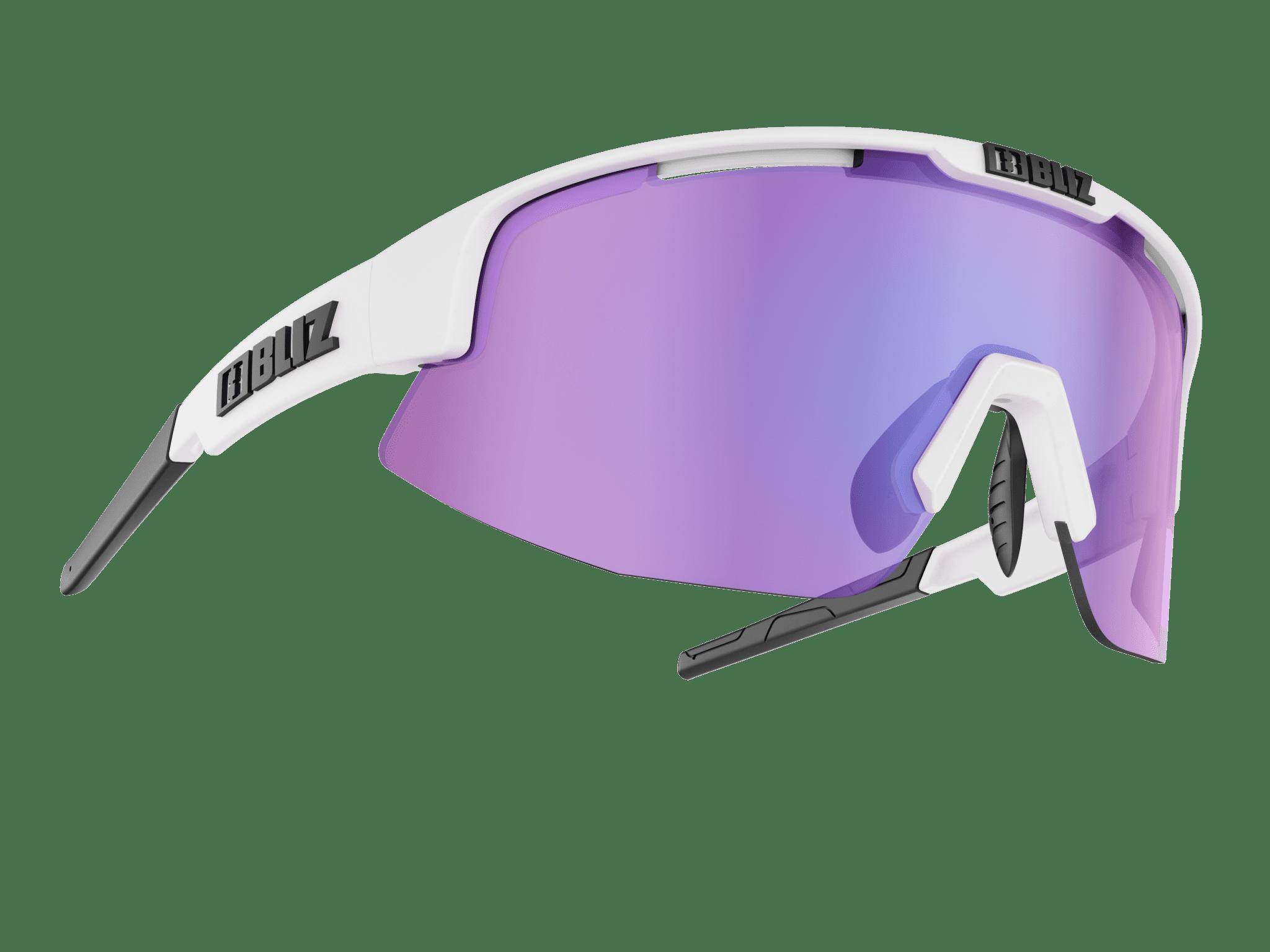8279902430 BLIZ MATRIX Shiny White   brown w purple multi (Filt.Cat.3 ...