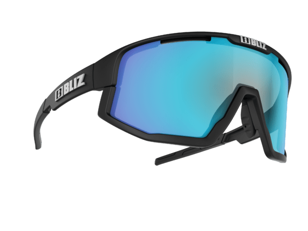 BLIZ FUSION Matt black/smoke w blue multi (Filt.Cat.3) 2