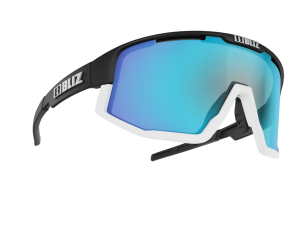 BLIZ FUSION Matt black/smoke w blue multi (Filt.Cat.3) 1