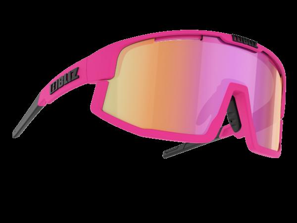 BLIZ VISION Matt neon pink/Brown w purple multi Filt.Cat.3 (für Brillenträger geeignet) 1