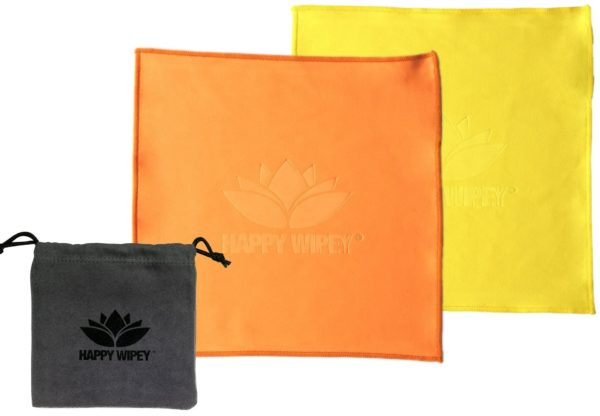 Happy Wipey PLAIN EDITION honeybush orange & yasmin yellow 1