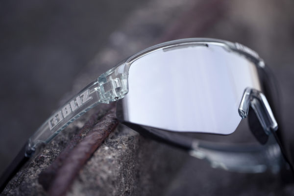 BLIZ Sportbrille MATRIX Transparent Blue/Smoke w ice blue CAT.3 5