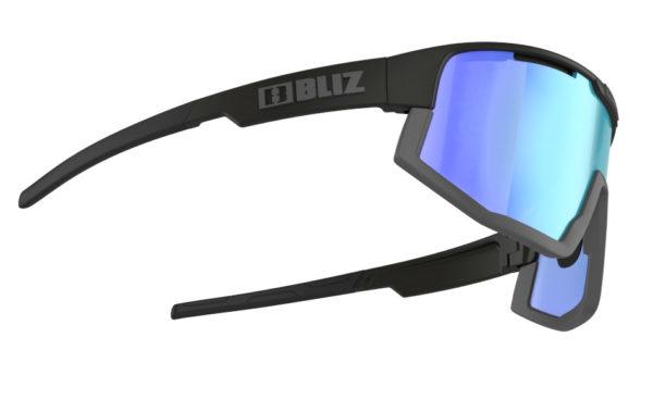 BLIZ FUSION Sportbrille Matt black/orange w blue multi Nordic Light (Filt.Cat.1) 3