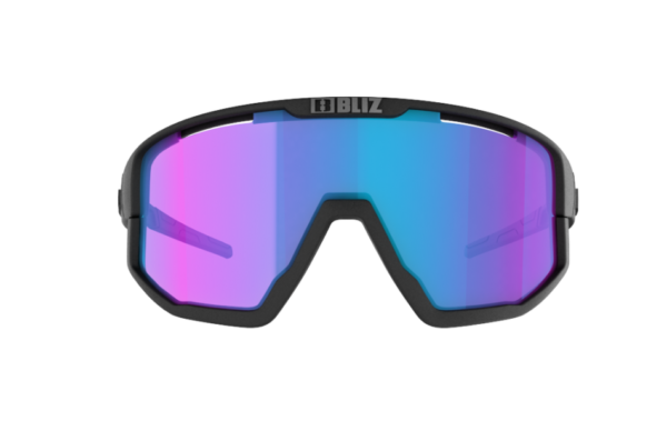 BLIZ FUSION Sportbrille Matt black/violet w blue multi Nordic Light (Filt.Cat.2) 2