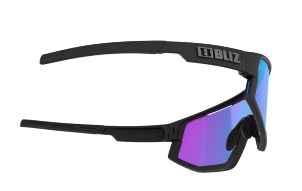 BLIZ FUSION Sportbrille Matt black/violet w blue multi Nordic Light (Filt.Cat.2) 4