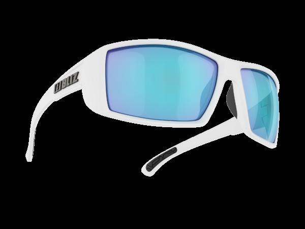 BLIZ DRIFT matt white/smoke with blue multi Filt.Cat.3 1