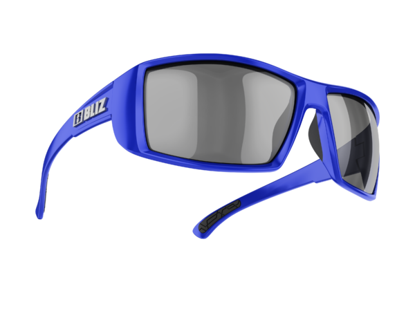 BLIZ DRIFT blue/smoke with silver mirror Filt.Cat.3 1