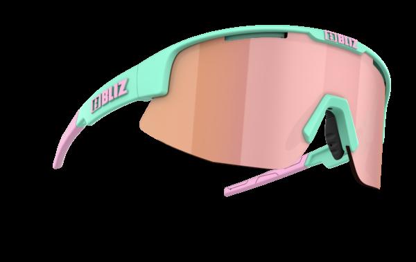 BLIZ Sportbrille MATRIX Matt Mint / brown w rose multi Filt.Cat.3 1