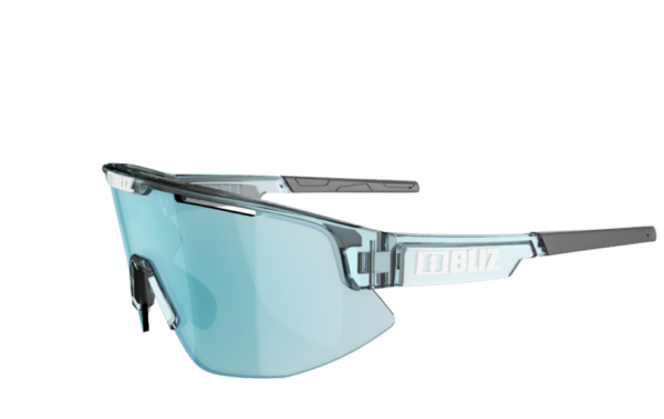 BLIZ Sportbrille MATRIX Transparent Blue/Smoke w ice blue CAT.3 2