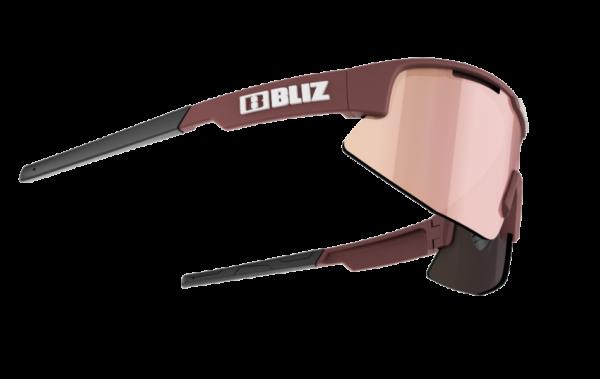 BLIZ Sportbrille MATRIX Small Burgundy / brown w rose multi (Filt.Cat.3) 3